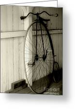 Firehouse Velocipede Greeting Card