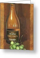 Firelands Chardonnay Greeting Card