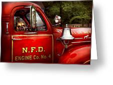 Fireman - This Is My Truck Greeting Card