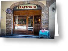 Firenze Trattoria Greeting Card