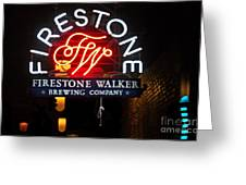 Firestone Walker Brewing Company Greeting Card