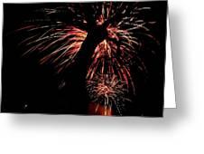 Firetree Greeting Card
