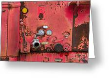 Firetruck Red Greeting Card