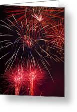 Firework Majesty  Greeting Card