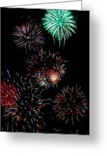 Colorful Explosions No2 Greeting Card