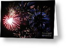 Firework - Saint Denis - Ile De La Reunion - Reunin Island - Indian Ocean Greeting Card