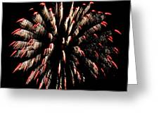 Fireworks 1 Greeting Card by Jeffrey J Nagy