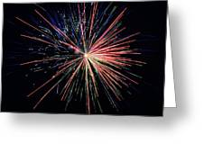 Fireworks 2 Greeting Card