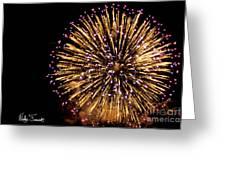 Fireworks 2014  10 Greeting Card
