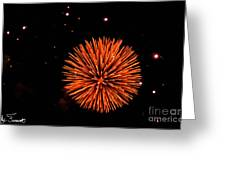 Fireworks 2014  11 Greeting Card