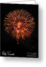 Fireworks 2014  13 Greeting Card