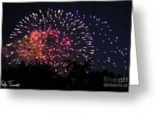 Fireworks 2014  3 Greeting Card