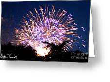 Fireworks 2014  6 Greeting Card