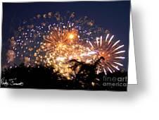Fireworks 2014  7 Greeting Card