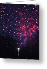 Fireworks 2014 Vi Greeting Card