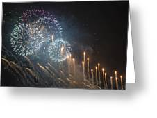 Fireworks-2887 Greeting Card