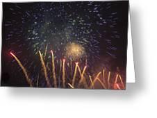 Fireworks-3027 Greeting Card