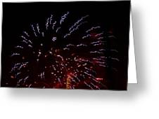 Fireworks 4 Greeting Card by Tonna Mears