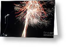 Fireworks 45 Greeting Card