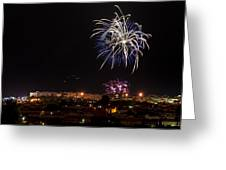 Fireworks Albenga 2013 3765 - Ph Enrico Pelos Greeting Card