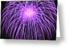 Fireworks At Night 2 Greeting Card