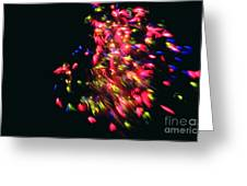 Fireworks At Night 4 Greeting Card