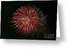 Fireworks At Night 5 Greeting Card