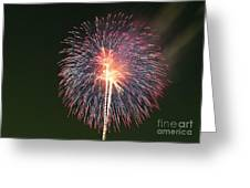 Fireworks At Night 9 Greeting Card
