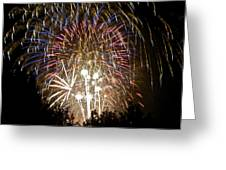 Fireworks Bursts Colors And Shapes 1 Greeting Card