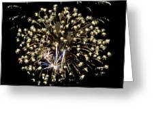 Fireworks Bursts Colors And Shapes 4 Greeting Card