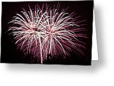 Fireworks Bursts Colors And Shapes 7 Greeting Card