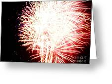 Fireworks By Angela Greeting Card by Angelia Hodges Clay