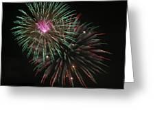 Fireworks Exploding Greeting Card