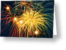 Fireworks Finale Greeting Card by Doug Kreuger