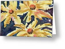 Fireworks In Flower Greeting Card