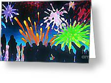Fireworks In Halifax Greeting Card