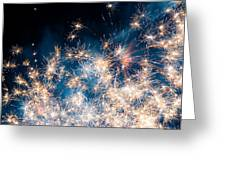 Fireworks In The Sky Greeting Card by Gianfranco Weiss