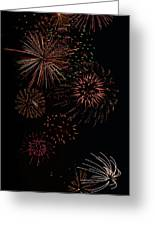 Fireworks - Phone Case Design Greeting Card