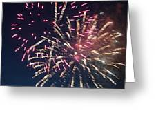 Fireworks Series Xiii Greeting Card