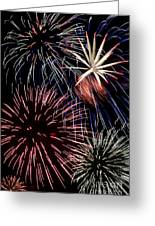 Fireworks Spectacular Greeting Card