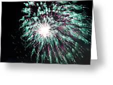 Fireworks Splendor Greeting Card
