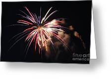 Fireworks Twenty Eleven II Greeting Card