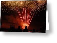 Fireworks Greeting Card by Vonnie Murfin