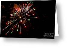 Fireworks2 Greeting Card
