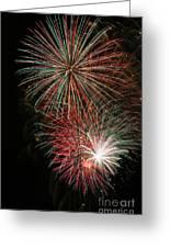 Fireworks6509 Greeting Card