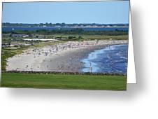 First Beach Newport Ri Greeting Card