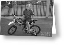 First Bike Greeting Card