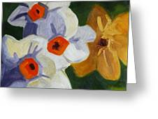 First Blooms Greeting Card