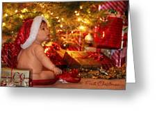 First Christmas Greeting Card