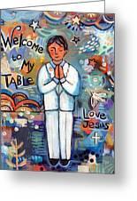 First Communion Boy Greeting Card